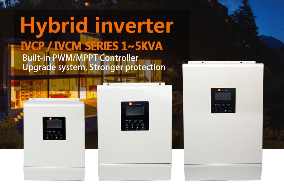 High Frequency Hybrid Inverter