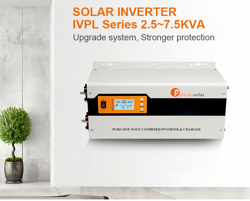 AC To Dc Charger 220V 5KVA 48VSolar Power Inverter