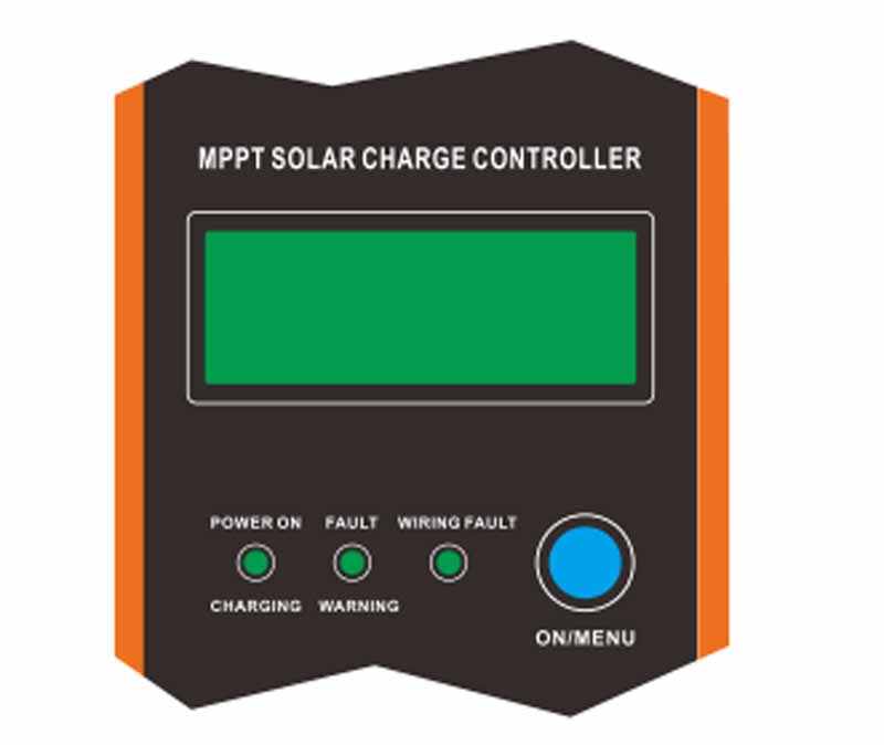 120A MPPT Charge Controller with wide range of lead-acid batteries