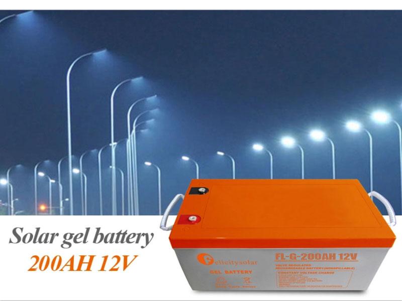 Agm Deep Cycle Battery 12v 200ah Gel Solar Battery