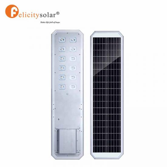 80W All In One Led Smart Solar Street Light With Camera