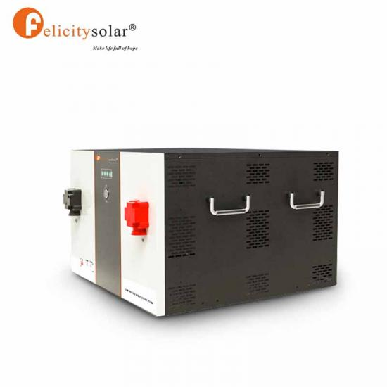 Lithium Battery Power wall 12.5KWH Iron For Home